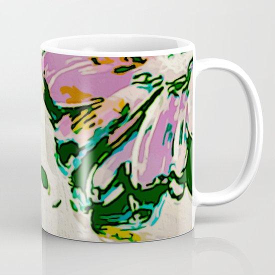 Woman In flowers Mug