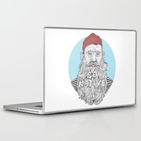 sailor Laptop & iPad Skins featuring Sailor by cikuta