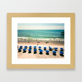 Aerial Beach 1 Framed Art Print