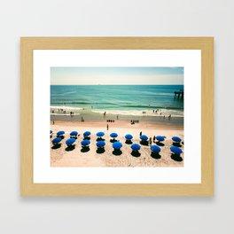 Aerial Beach 1 Framed Art Print