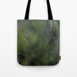 Peaceful Long Grass Tote Bag