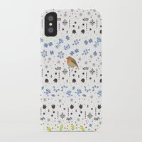 robin iPhone & iPod Cases featuring Robin by Ornaart