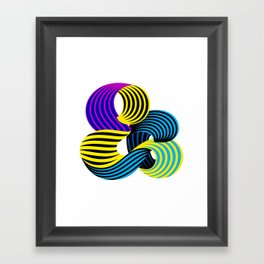Robu Ampersand 01 Framed Art Print
