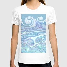 LIGHT BLUE MIX T-shirt