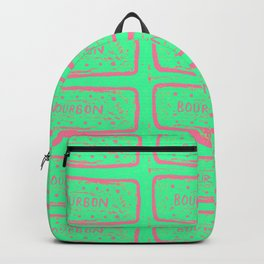 Pop Art Candy Cookie Design by Gracie Joyce Backpack