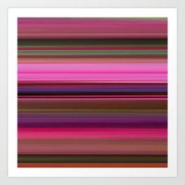 Polinator - Striped Art Print