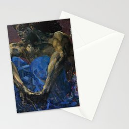 Mikhail Vrubel - The Demon seated Stationery Cards