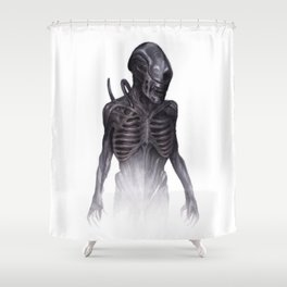 ALIEN - Xenomorph Shower Curtain