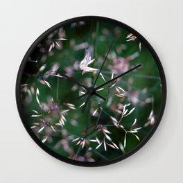 Shimmering Seeds Wall Clock