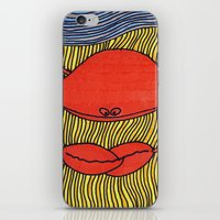 crab iPhone & iPod Skins featuring Crab by mojekris