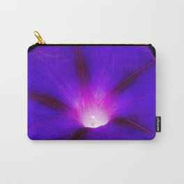Glorious purple morning glory Grandpa Ott, heirloom Ipomoea Carry-All Pouch