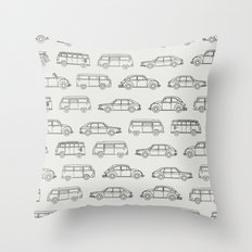 Volkswagens Everywhere Throw Pillow