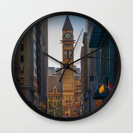 Toronto old city hall courthouse Wall Clock