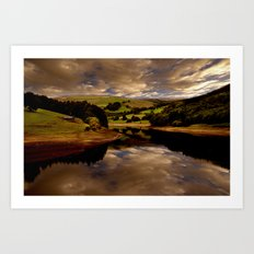The Derwent Arm Art Print