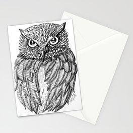 Fierce Owl Stationery Cards