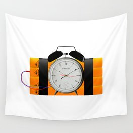 Time Bomb Wall Tapestry