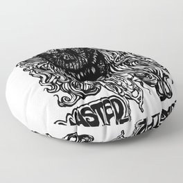 """WASTED ZOMBIE """"SCARFACE"""" Floor Pillow"""
