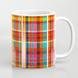 Madras Bright Check Coffee Mug