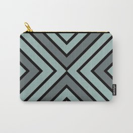VooDoo Gray with Black Stripes Carry-All Pouch