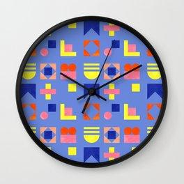 Geometry- pattern no1 Wall Clock