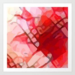 Crackle #4 Art Print