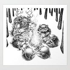 Ullr 2 Art Print