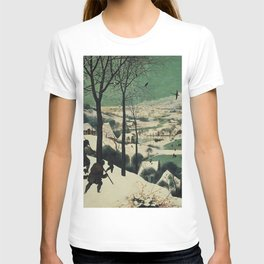 HUNTERS IN THE SNOW - BRUEGEL T-shirt