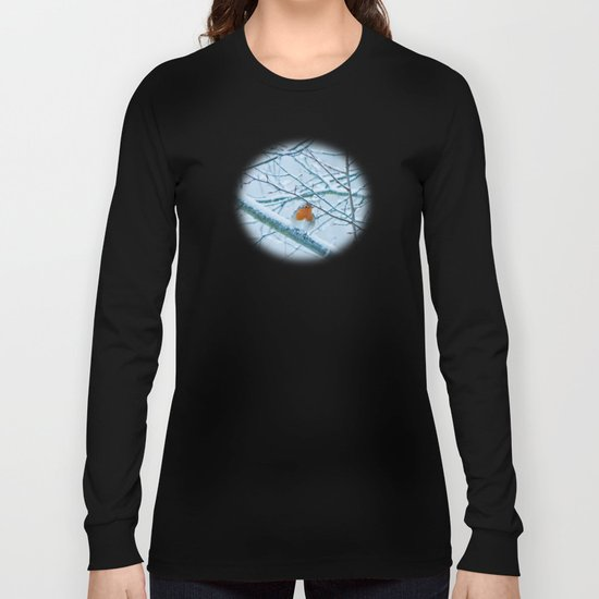 Robin in the cold Long Sleeve T-shirt