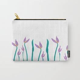 Flower Watercolor Carry-All Pouch