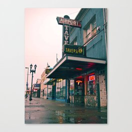 Airport Tavern Canvas Print