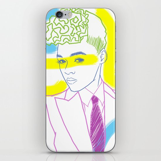 """The Electric Lady"" by Tim Lukowiak iPhone & iPod Skin"