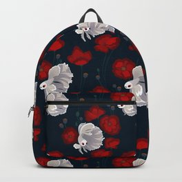 Bettas and Poppies Backpack