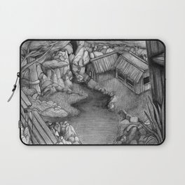 Within ancient ruins Laptop Sleeve