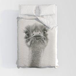 Cute Ostrich SK053 Duvet Cover