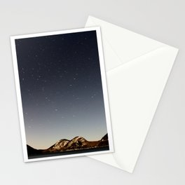 Jordan Pond Star Trail Stationery Cards