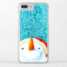 Look it's snowing Clear iPhone Case
