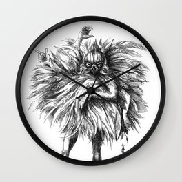 Dance Macabre Wall Clock