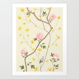Jenny Chinoiserie  Art Print