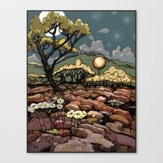 April 9, 2012 - adjusted color Canvas Print
