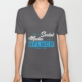 Social Media Influencer | NFLNCR Unisex V-Neck
