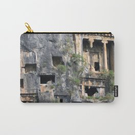 Rock Tombs Photograph Fethiye Carry-All Pouch