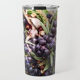Concord Grapes Travel Mug