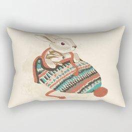 cozy chipmunk Rectangular Pillow