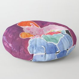 Breastfeeding Hungry Baby Floor Pillow