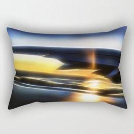 Sunset wing Rectangular Pillow