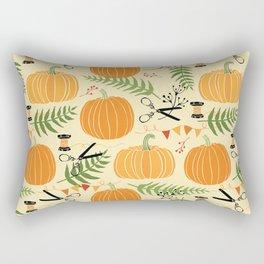 Lovely Pumpkins Rectangular Pillow