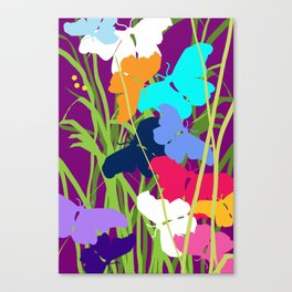 Butterfly Night Canvas Print
