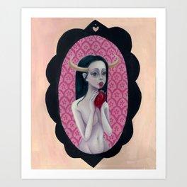 Bella Diablo- Print Version Art Print