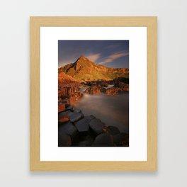 A Storm Of Light Framed Art Print