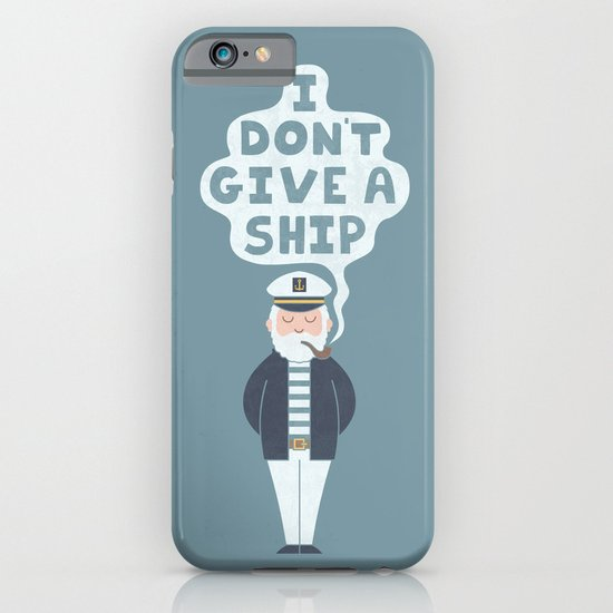 Indifferent Captain iPhone & iPod Case